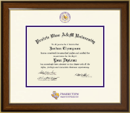 Prairie View A&M University Diploma Frame - Dimensions Diploma Frame in Westwood