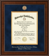 University of South Carolina Aiken Diploma Frame - Presidential Masterpiece Diploma Frame in Madison