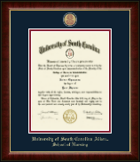 University of South Carolina Aiken Diploma Frame - Masterpiece Medallion Diploma Frame in Murano