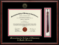 Massachusetts College of Pharmacy & Health Sciences Diploma Frame - Tassel Edition Diploma Frame in Southport