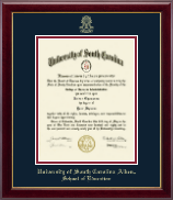 University of South Carolina Aiken Diploma Frame - Gold Embossed Diploma Frame in Gallery