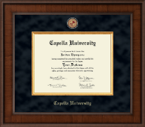 Capella University Diploma Frame - Presidential Masterpiece Diploma Frame in Madison