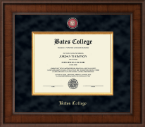 Bates College Diploma Frame - Presidential Masterpiece Diploma Frame in Madison