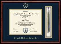 Virginia Wesleyan University Diploma Frame - Tassel Edition Diploma Frame in Southport