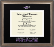University of Wisconsin Whitewater Diploma Frame - Dimensions Diploma Frame in Easton