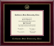 California State University Chico Diploma Frame - Gold Embossed Diploma Frame in Gallery
