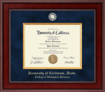 University of California Davis Diploma Frame - Presidential Masterpiece Diploma Frame in Jefferson