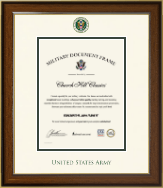 United States Army Certificate Frame - Dimensions Certificate Frame in Westwood