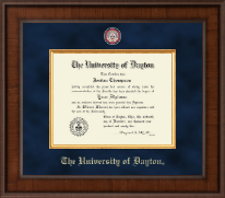 University of Dayton Diploma Frame - Presidential Masterpiece Diploma Frame in Madison