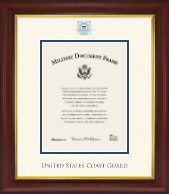 United States Coast Guard Certificate Frame - Dimensions Certificate Frame in Redding