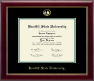 Bemidji State University  Diploma Frame - Gold Embossed Diploma Frame in Gallery