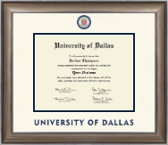 University of Dallas Diploma Frame - Dimensions Diploma Frame in Easton