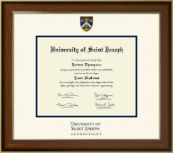 University of Saint Joseph in Connecticut Diploma Frame - Dimensions Diploma Frame in Westwood