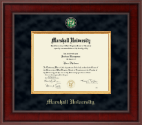 Marshall University Diploma Frame - Presidential Masterpiece Diploma Frame in Jefferson