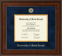 University of Saint Joseph in Connecticut Diploma Frame - Presidential Masterpiece Diploma Frame in Madison