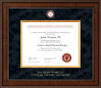 American Board of Physical Therapy Specialties Certificate Frame - Presidential Masterpiece Certificate Frame in Madison