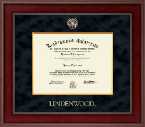 Lindenwood University Diploma Frame - Presidential Masterpiece Diploma Frame in Jefferson