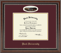 Park University Diploma Frame - Campus Cameo Diploma Frame in Chateau