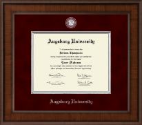 Augsburg University Diploma Frame - Presidential Masterpiece Diploma Frame in Madison