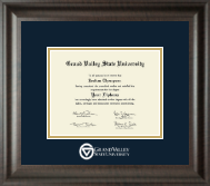 Grand Valley State University Diploma Frame - Dimensions Diploma Frame in Acadia