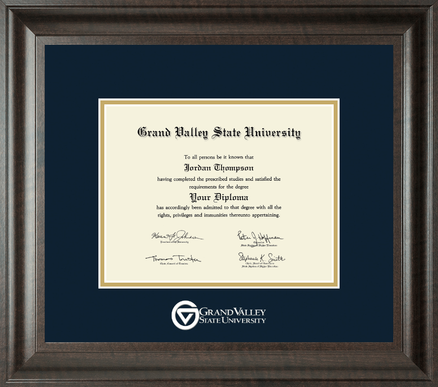 Designer Den State College: Grand Valley State University Dimensions Diploma Frame In