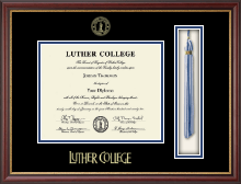 Luther College Diploma Frame - Tassel Edition Diploma Frame in Newport