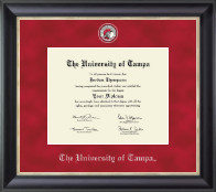 University of Tampa Diploma Frame - Regal Edition Diploma Frame in Noir
