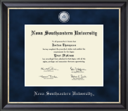 Nova Southeastern University  Diploma Frame - Regal Edition Diploma Frame in Noir