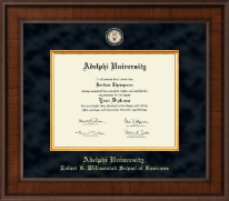 Adelphi University Diploma Frame - Presidential Masterpiece Diploma Frame in Madison