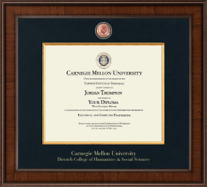 Carnegie Mellon University Diploma Frame - Presidential Masterpiece Diploma Frame in Madison