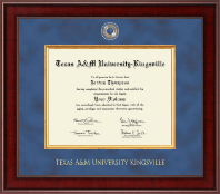 Texas A&M University Kingsville Diploma Frame - Presidential Masterpiece Diploma Frame in Jefferson