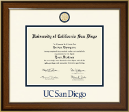 University of California San Diego Diploma Frame - Dimensions Diploma Frame in Westwood