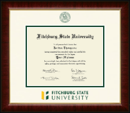 Fitchburg State University Diploma Frame - Dimensions Diploma Frame in Murano
