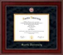 Seattle University Diploma Frame - Presidential Masterpiece Diploma Frame in Jefferson