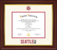 Seattle University Diploma Frame - Dimensions Diploma Frame in Prescott