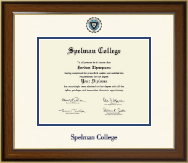 Spelman College Diploma Frame - Dimensions Diploma Frame in Westwood