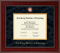 New Jersey Institute of Technology Diploma Frame - Presidential Masterpiece Diploma Frame in Jefferson