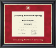 New Jersey Institute of Technology Diploma Frame - Regal Edition Diploma Frame in Noir