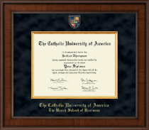 The Catholic University of America Diploma Frame - Presidential Masterpiece Diploma Frame in Madison