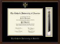 The Catholic University of America Diploma Frame - Tassel Edition Diploma Frame in Delta