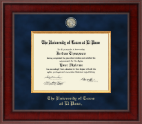 University of Texas at El Paso Diploma Frame - Presidential Masterpiece Diploma Frame in Jefferson