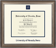 University of Nevada Reno Diploma Frame - Dimensions Diploma Frame in Easton