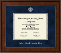 University of Nevada Reno Diploma Frame - Presidential Masterpiece Diploma Frame in Madison