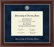 University of Nevada Reno Diploma Frame - Regal Edition Diploma Frame in Chateau