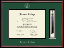 Babson College Diploma Frame - Tassel Edition Diploma Frame in Southport