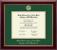 SUNY The College of Old Westbury Diploma Frame - Masterpiece Medallion Diploma Frame in Gallery