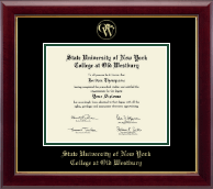 SUNY The College of Old Westbury Diploma Frame - Gold Embossed Diploma Frame in Gallery