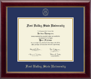 Fort Valley State University Diploma Frame - Gold Embossed Diploma Frame in Gallery