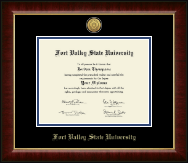Fort Valley State University Diploma Frame - Gold Engraved Medallion Diploma Frame in Murano