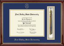 Fort Valley State University Diploma Frame - Tassel Edition Diploma Frame in Southport Gold